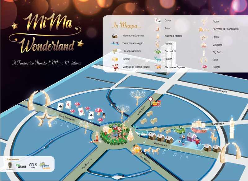 MiMa Wonderland, Karte