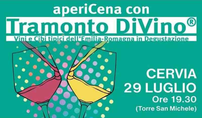 Tramonto DiVino a Cervia, locandina 2021