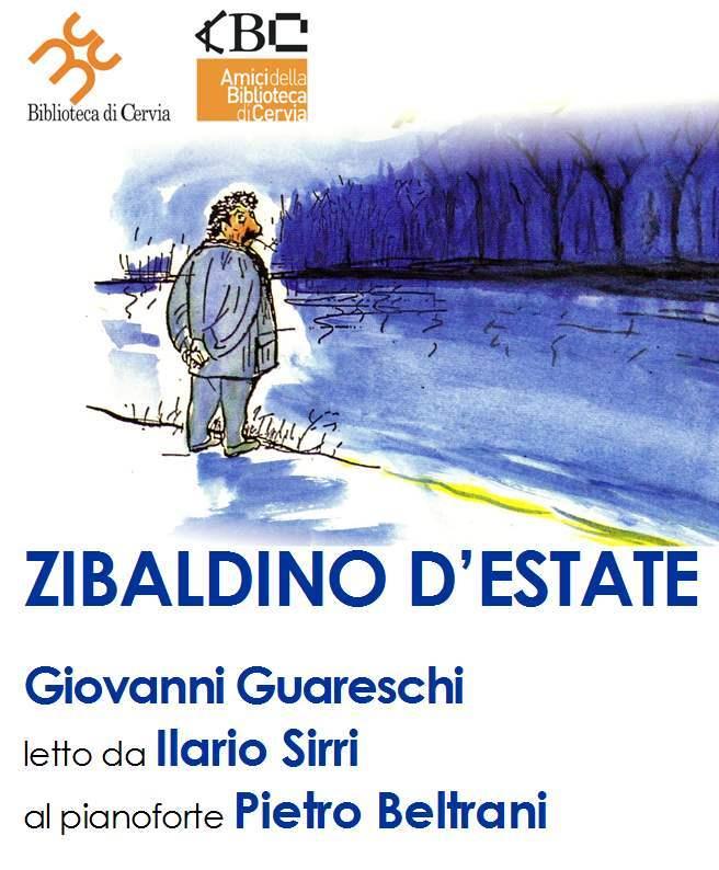 Zibaldino, letture di Guareschi - locandina
