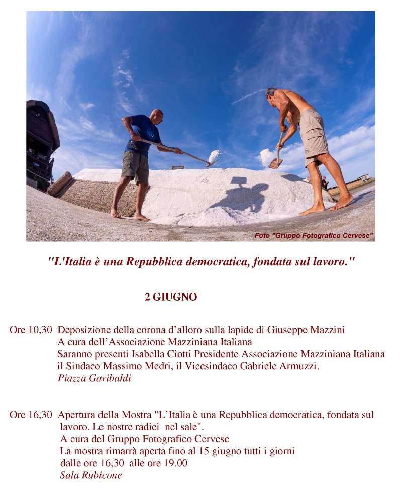 Locandina mostra 2 giugno 2020