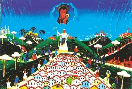 quadro donato a Giovanni Paolo II