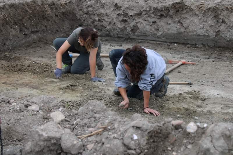 Cervia ritrovata, archeologi al lavoro - Ph. Gruppo Musa - Ph. Gruppo Musa