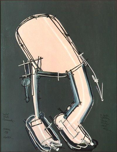 Mattia Moreni, Robot investe l'umanoide