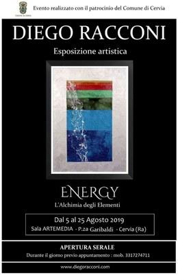 Energy - Diego Racconi, locandina