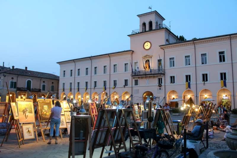 Piazza in Arte, artisti in Piazza Garibaldi - Ph. Francesco Benazzi