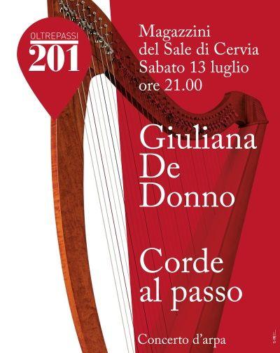 Concerto arpa, locandina