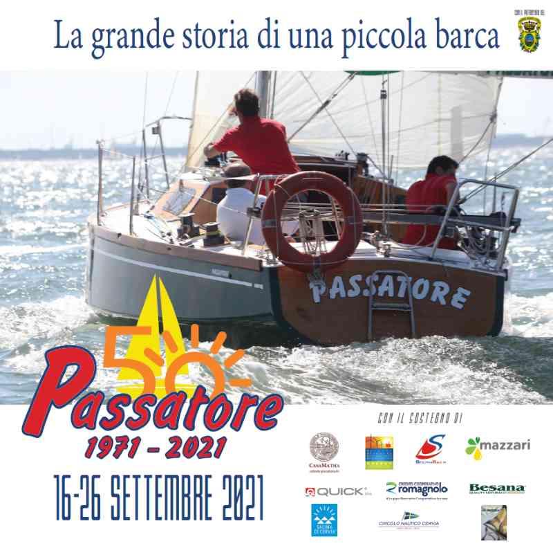 Passatore - La grande storia di una piccola barca, locandina