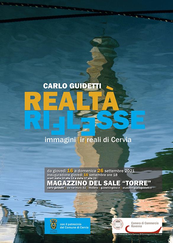 Realtà riflesse - Carlo Guidetti, locandina