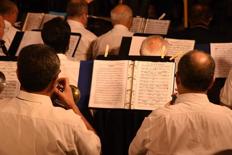 Banda Città di Cervia, orchestrali - Ph. Dany Fontana