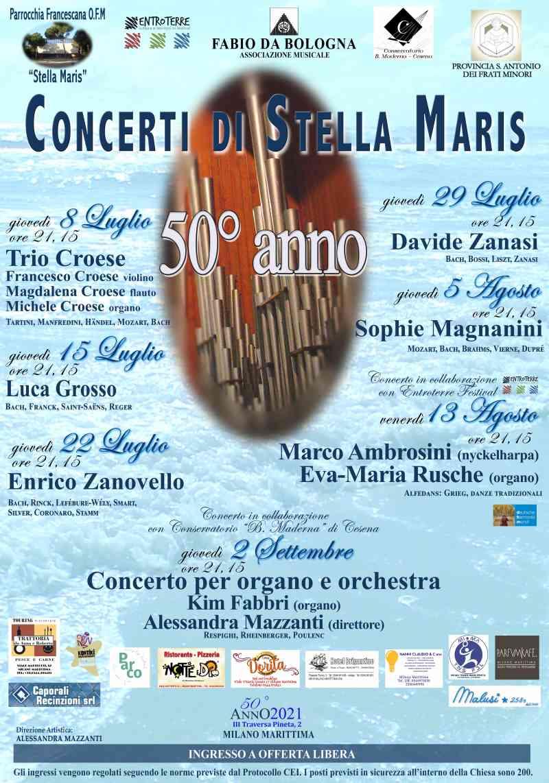 concerti d'organo alla Stella Maris di Milano Marittima