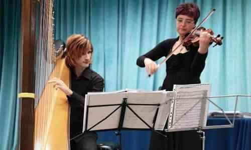 Concerti all'alba a Cervia, Duo Violinharp
