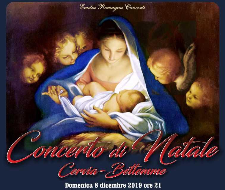 Concerto di Natale M° Paolo Olmi, locandina