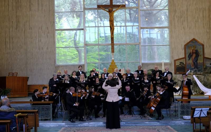 Concerto di Pasqua, Coro Ad Novas