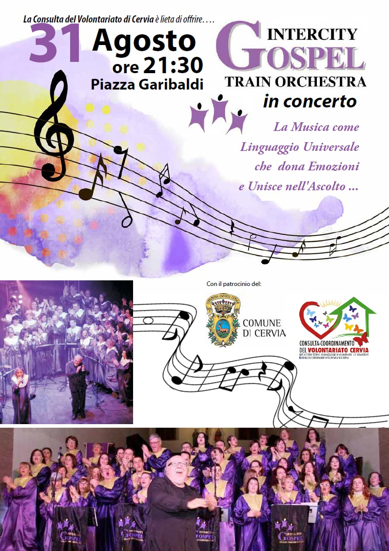 Concerto Gospel, locandina 2019