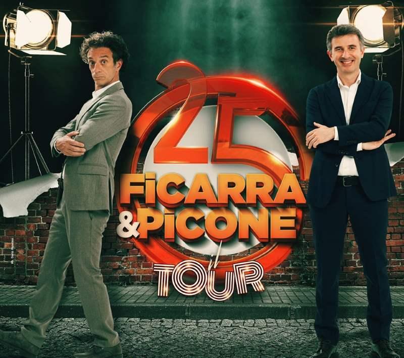 Ficarra e Picone, tour 25 anni
