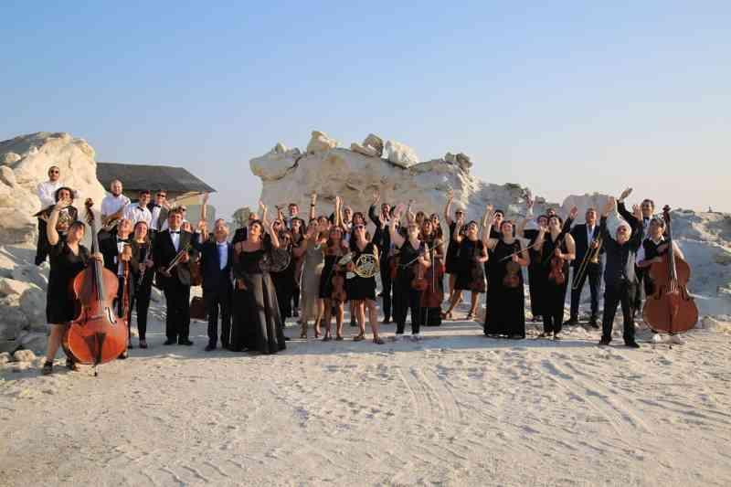 La Grande Orchestra di Cervia in salina - Ph. Fabio Panzavolta
