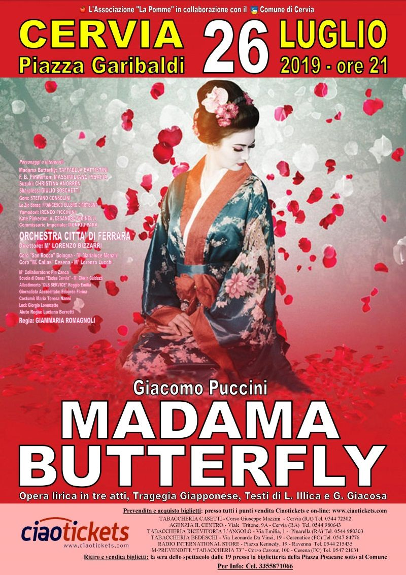 Madama Butterfly, locandina