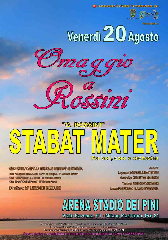 Stabat Mater a Milano Marittima, locandina