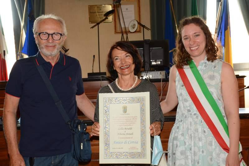 Premiazione estate 2020 - Ph. Treue Preise Cervia Freunde 2020