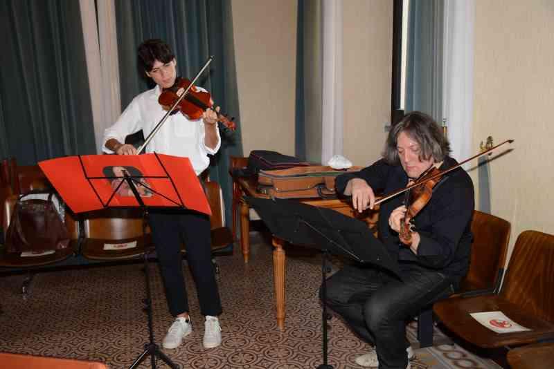 Amici di Cervia, violinisti 25 agosto