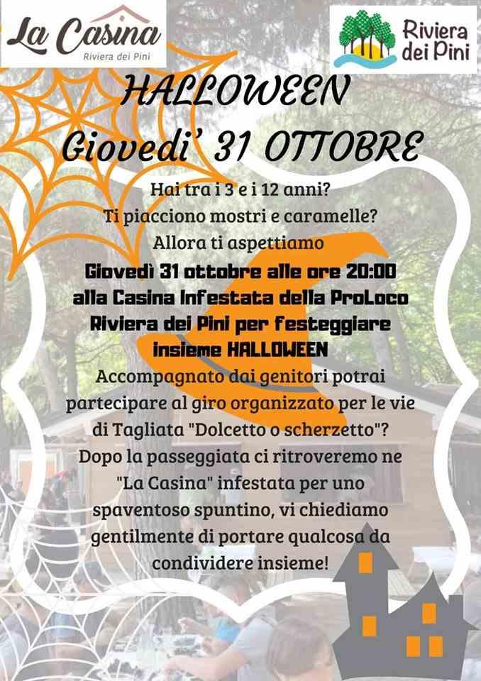 Halloween Riviera dei Pini 2019, locandina