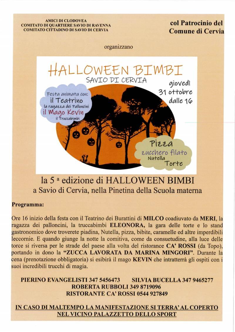Halloween Savio 2019, locandina