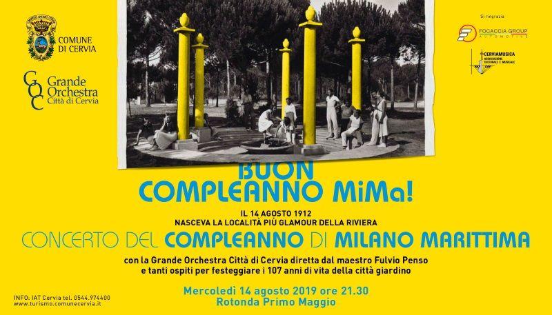 Happy Birthday Milano Marittima, immagine 2019