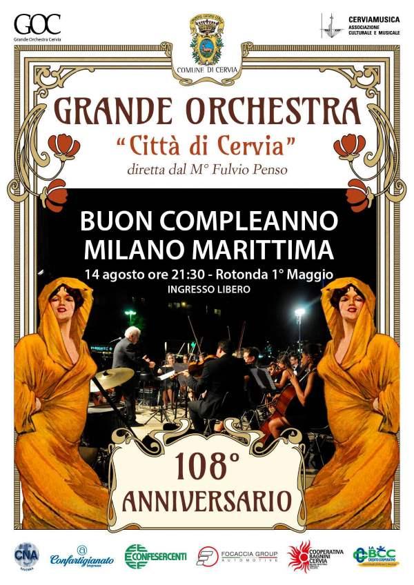 Happy Birthday Milano Marittima, locandina 2020