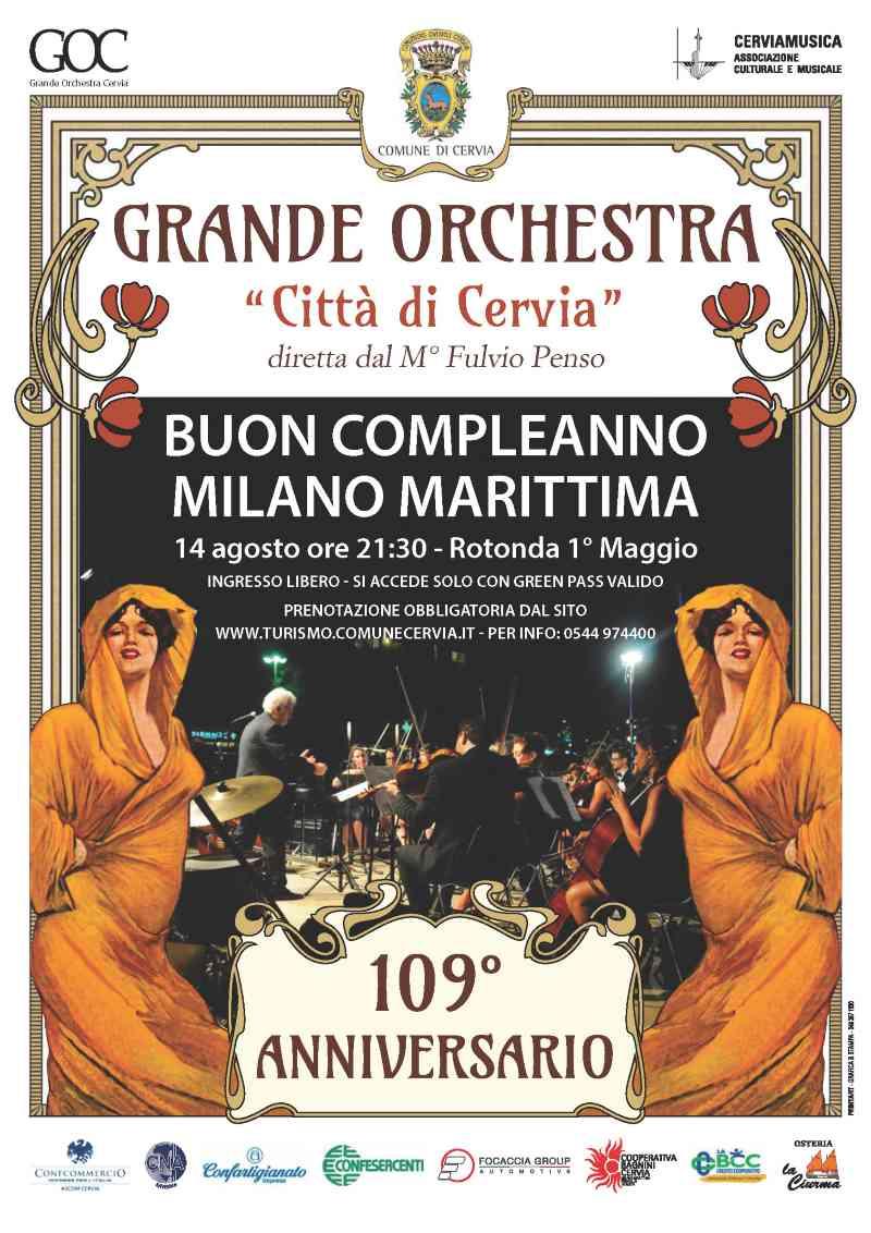 Happy Birthday Milano Marittima, locandina 2021