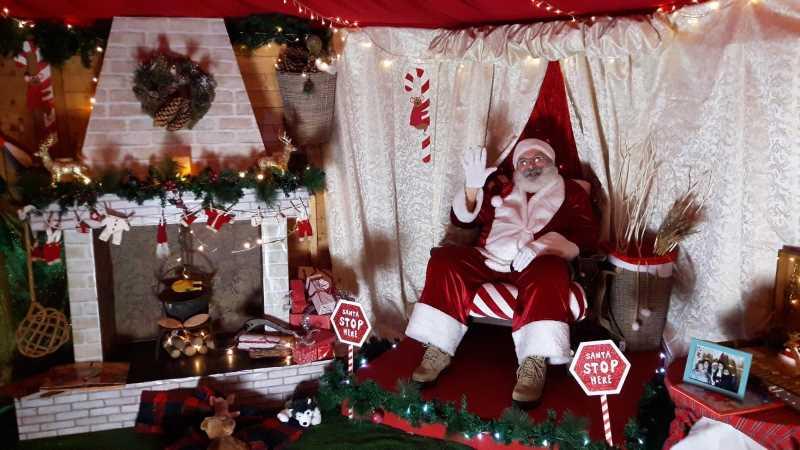Magazzino di Babbo Natale, interno