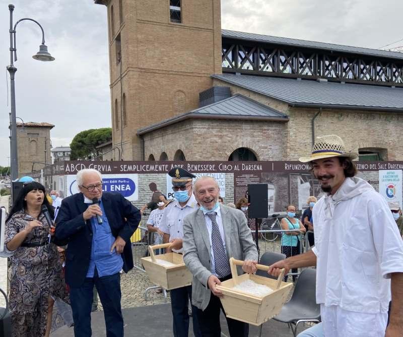 Sapore di sale, consegna del sale dolce - Ph. Giorgio Carloni