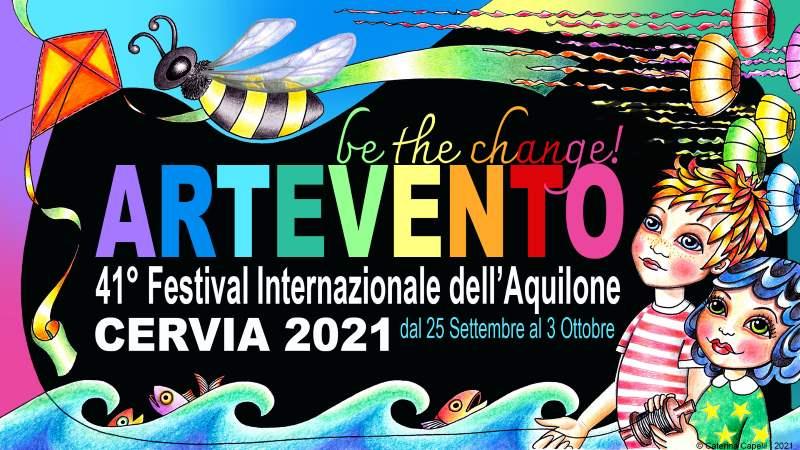 ARTEVENTO - Festival Internazionale dell'Aquilone, copertina 2021