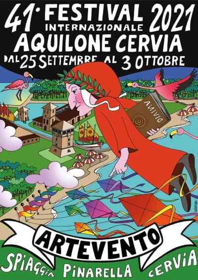 ARTEVENTO - Festival Internazionale dell'Aquilone, manifesto 2021