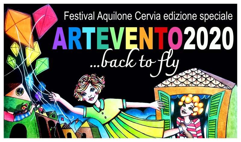 ARTEVENTO - Festival Internazionale dell'Aquilone, copertina 2020