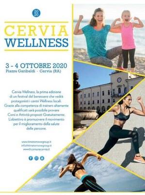 Cervia Wellness, locandina