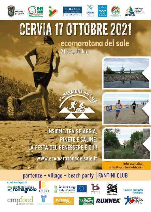 Ecomaratona del sale, locandina 2021
