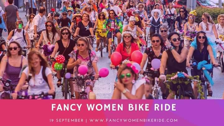 Fancy Women Bike Ride, logo Tagliata