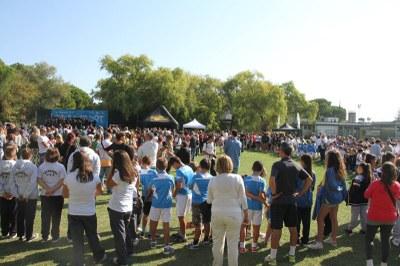 Festa dello sport, campo sportivo