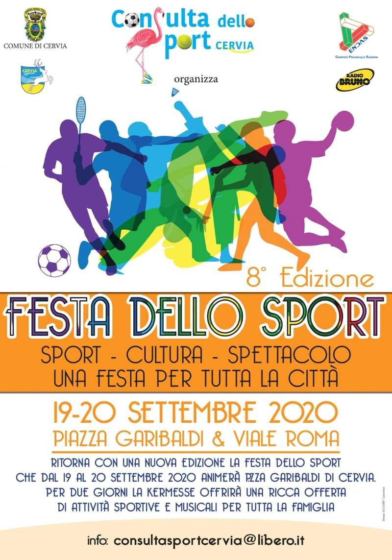 Festa dello Sport, locandina 2020