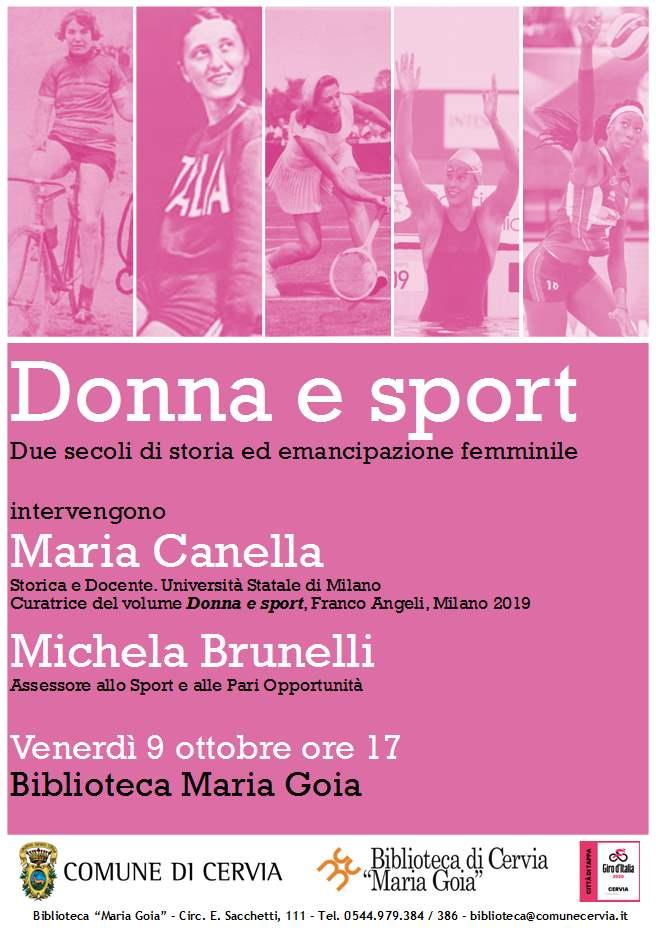 Giro d'Italia, locandina Donna e sport