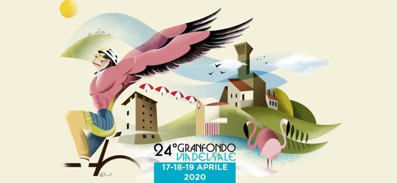 Granfondo Via del Sale, logo 2020