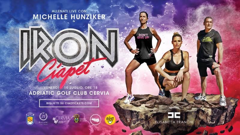 Michelle Hunziger a Milano Marittima con il primo live Iron Ciapèt