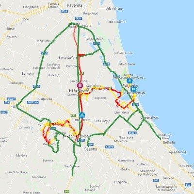 Ironman, mappa viabilità 2019