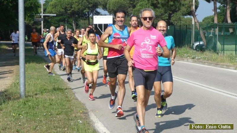 Memorial Gianluca Conti, corsa