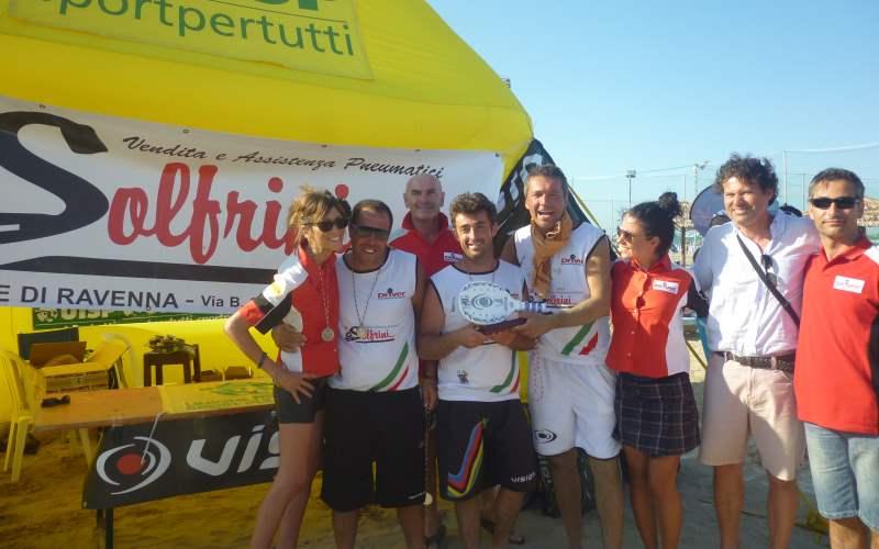 Playball, Campionato regionale Uisp di beach tennis adulti e under