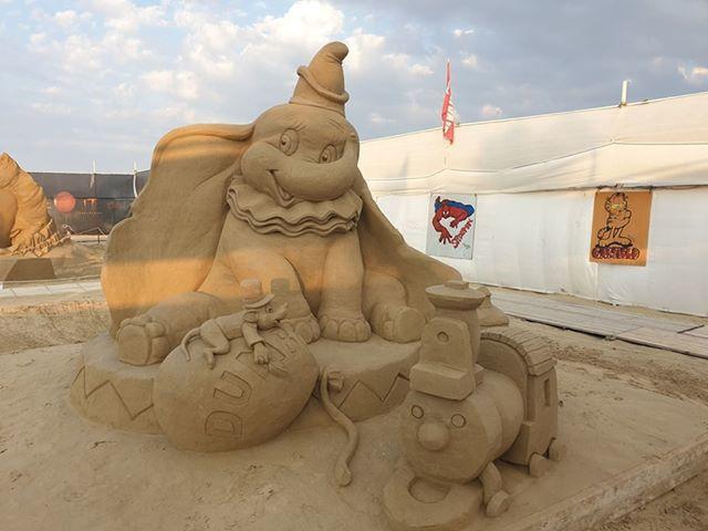 Sculture di sabbia, Dumbo foto Simone Sedioli