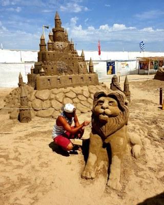 Sculture di sabbia, Simone Sedioli