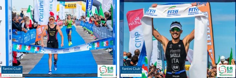 Cervia, Campionati Italiani Triathlon Sprint 2021, vincono Alice Betto e Michele Sarzilla - Ph. Roberto Del Bianco, Flipper Triathlon
