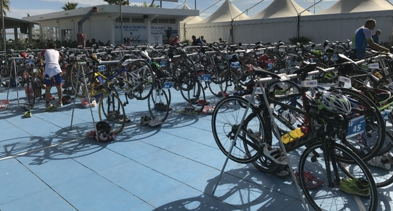 Triathlon, biciclette