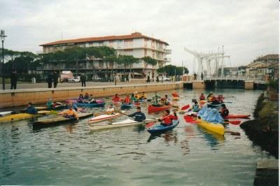Trofeo di canoa di Santo Stefano Rinaldo Giani